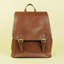 Abijah Backpack Reddish Brown | Butterfield
