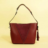 Naeva Tote Red Wine | Butterfield