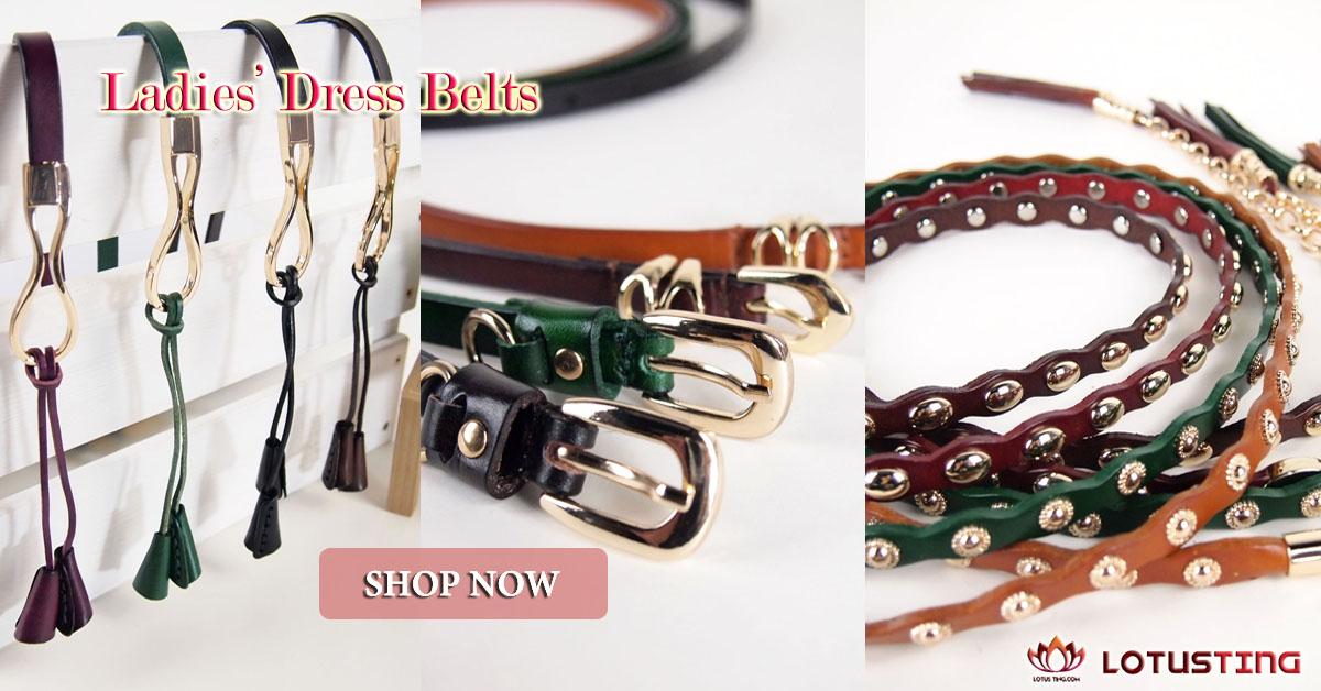 Elegant Ladies Dress Belts at Lotusting eStore