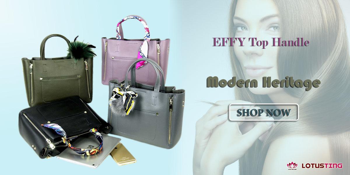 Sleek Modern Heritage Effy Top Handles at Lotusting eStore