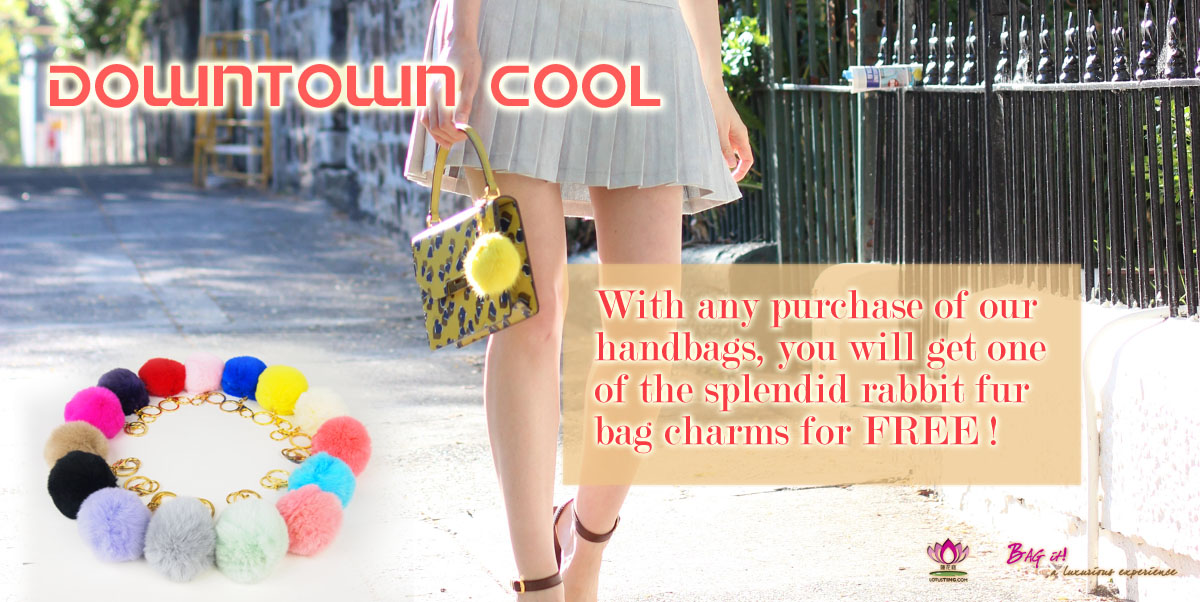 Lotusting FREE Bag Charm Promotion