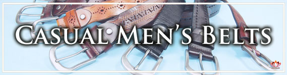Outstanding Men's Casual Leather Belts at LotusTing eShop