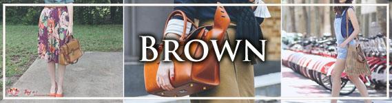 Timeless Brown Handbags at LotusTing eShop