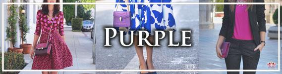Elegant Purple Handbags at LotusTing Shop