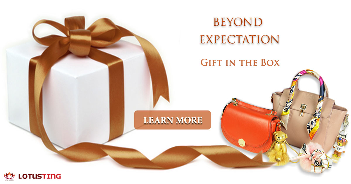 Free Gift for Everything You Purchase at Lotusting International