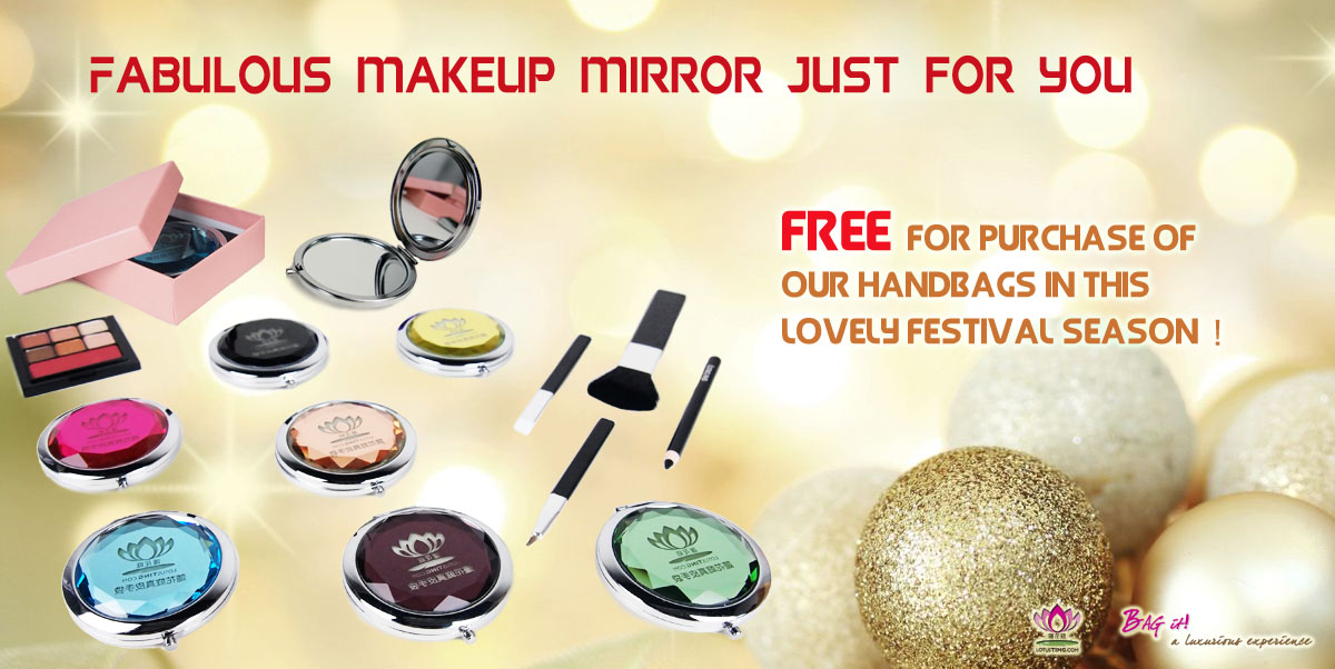 Lotusting FREE Makeup Mirror Promotion