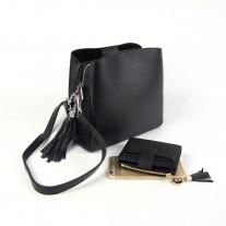 Sheryl Shoulder Bag Black   Modern Heritage