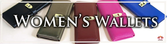 Gorgeous Women's Leather Wallets at LotusTing eShop/eStore