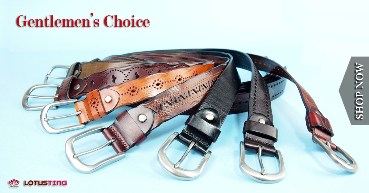 Gentlemen's Casual Belts at Lotusting eStore