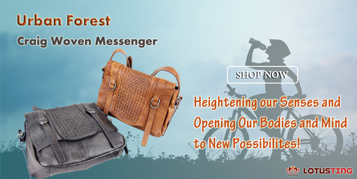 Fabulous Urban Forest Craig Messenger Handbags at Lotusting eStore